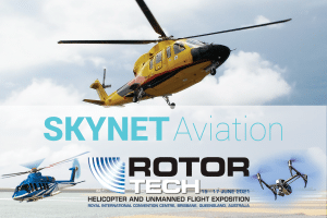 Get your hands on SkyNet's innovations at RotorTech 2021 - 15-17 June 2021